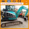 Mini máquina escavadora usada/de segunda mão de Kobelco (Sk65) para vendas