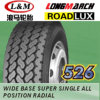Longmarch Roadlux Truck Tire mit Inner Tube und Flap