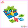 Intelligent het Stapelen van de baby Stuk speelgoed (W13E001)