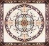 Het Marmeren Mozaïek van het medaillon met Waterjet Waterjet van de Bloem het Marmeren Patroon van het Mozaïek