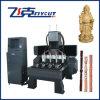 Máquina do gravador do CNC do cilindro de 4 linhas centrais para a madeira