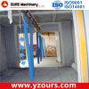 Sistema di rivestimento elettrostatico della polvere con il forno industriale