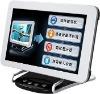 2012サービス産業に加えられる新しい電子プロダクトタッチ画面の顧客からのフィードバックか評価装置