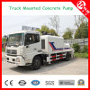 70m3/H Electric Truck Mounted Concrete Pumps para Sale