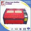 De Scherpe Machine van de Laser van kleuren Pu, Pu, Leer, het Knipsel van de Laser van de Stof met Beste Prijs
