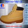 新しいデザインスエードの革中間の切口の安全靴(GWRU-3014)