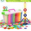 Plastik-DIY Schneeflocke-Teilchen-Baustein-Spielzeug