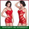 Mini-rouge de haute qualité Mesdames sexy avec sous-vêtements sans manches