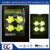 Etiqueta reflexiva da visibilidade elevada da luz fluorescente