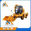 Cbm van de bouw 4X4 3.5 de ZelfVrachtwagen van de Concrete Mixer van de Lading Mobiele