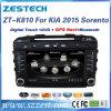 DVD GPSの音声とのKIA Sorento 2015年のためのカーラジオ