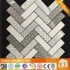 Conception de tissu, impression jet d'encre Mosaïque en verre recyclé (V639001)