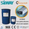 Alto sigillante di vetro di Insuating del silicone della componente di concentrazione di legame due