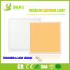 Regulable 600x600mm cuadrado compacto de 40W luz del panel de LED de iluminación de techo