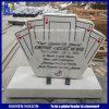 Nuovi Headstones di marmo bianchi personalizzati del Hunan di disegno della mazza