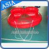 Het hete Opblaasbare UFO van het Spel van het Water Towable Opblaasbare Gekke, het Grappige Speelgoed van het Water voor Persoon 2