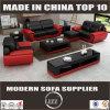 Il sofà ad alta densità del cuoio della gomma piuma ha impostato per il salone