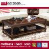 좋은 품질 As840A와 거실 홈 사용을%s 최신 단순한 설계 단단한 나무 둥근 커피용 탁자