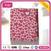 Cosméticos del corazón del día de tarjeta del día de San Valentín Wedding las bolsas de papel del regalo de la cafetería