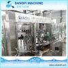 Máquina de rellenar plástica tamaño pequeño del agua mineral de la botella