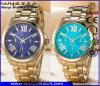 Polshorloges van de Manier van het Horloge van het Kwarts van het Embleem van de douane de Zwitserse voor Paar (wy-17005E)