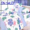 2010 New Arrival 100% Cotton Bedding Set (1 Duvet Cover, 1 Bed Sheet, 2 Pillowcases) (GFR-ND026)
