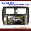Coche DVD con la memoria del disco GPS/6 para Toyota Prado 2011 (HP-TP700L)
