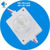 Voltio brillante estupendo IP65 de dc 12 del módulo 1.5W de la inyección del LED impermeabiliza IP65 que hace publicidad de blanco frío blanco caliente ligero