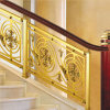 Laiton antique escalier en alliage aluminium rambarde