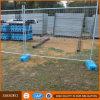 Портативная временно загородка ячеистой сети утюга