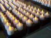 Velas de controle remoto recarregáveis do diodo emissor de luz para hotéis e restaurantes