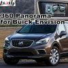 Hintere Ansicht-u. des Panorama-360 Schnittstelle für Buick Enklave stellen sich Zugabeköniglichen Lacrosse Verano mit Signaleingang-Form-Bildschirm des GR.-Multimedia-Systems-Lvds RGB vor
