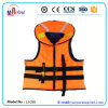 Jaqueta de segurança para natação para adultos, jaqueta de vida de poliéster