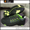 Del cuero de zapatos de seguridad dividida Nubuck con Nueva PU / suela de goma (SN5436)