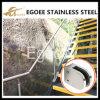ステンレス鋼ガラスクランプを磨くミラー