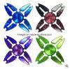 Cangrejo de las cuatro esquinas del cielo colorido Spinner de mano de cuatro hojas coloridas Fidget Gyro Spinner