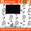 Papel de empapelar blanco y negro del diseño para la decoración