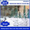 Planta Running da fábrica de moagem do trigo de Rússia