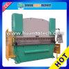Máquina de dobra hidráulica Wc67k da placa de aço