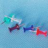 Coloured Plastic Push Pin au bureau (QX-P002F) 9 * 23mm
