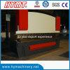Wc67y-200X4000 NC 통제 유압 강철 플레이트 구부리는 기계