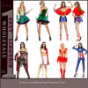 Atacado Super Hero Fancy Dress Carnival Halloween Adult Costume (TLQZ2865A)