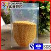 Il cereale asciutto si leva in piedi in su il sacchetto impaccante a chiusura lampo