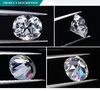 영구히 도매 공장 가격 Oec 백색 방석 합성 Moissanite 1개의 다이아몬드