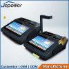 androide todo de la posición de 3G WiFi Bluetooth en un quiosco del pago al contado con la impresora del recibo de 58m m
