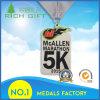 Médaille de support de la Malaisie de main d'OEM/Manufacture/Customized 5k au prix usine
