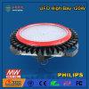 iluminação elevada do louro do UFO do diodo emissor de luz 120W com a microplaqueta do diodo emissor de luz da Philips