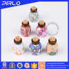 a argila do polímero 2ml engarrafa frascos de perfume de superfície coloridos da decoração dos frascos de perfume