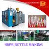 Máquina que sopla de la estación de los PP de la protuberancia doble de la botella para el envase de plástico
