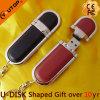 De hoogwaardige Aandrijving van de Flits Leer USB van het Bedrijfs van de Gift (yt-5102)